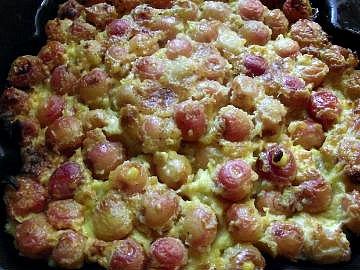 chez christy table d`hôte un clafouti aux cerises des dessert au fil des saisons